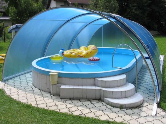 CASA - Pool - Schwimmbäder - Überdachungen